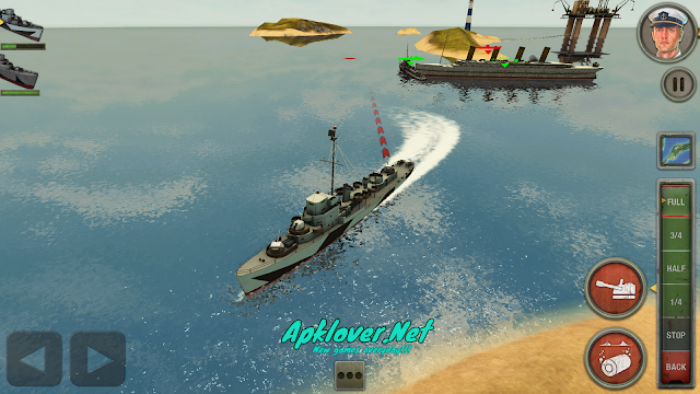 Enemy Waters Submarine and Warship battles MOD APK unlimited money