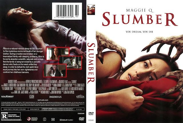 Slumber DVD Cover