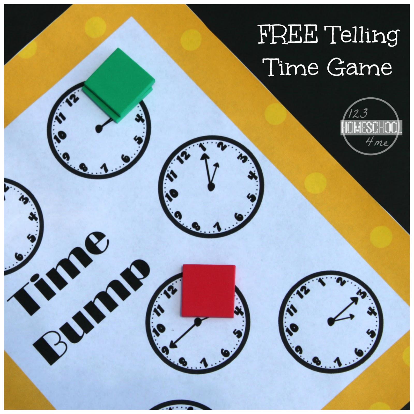 Time Bump Clock Game