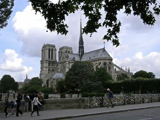 paryskie atrakcje, kościoły, Sekwana, Paryż