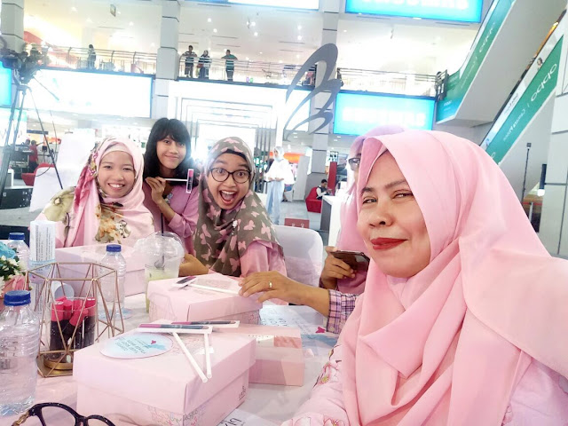 Asian Beauty Blogger gathering Palembang PIXY Agustus 2017 Launching Lip cream nude series terbaru