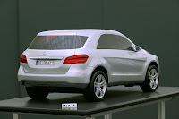 2011 Mercedes-Benz M-Class W 166 Design prototype foiled clay model