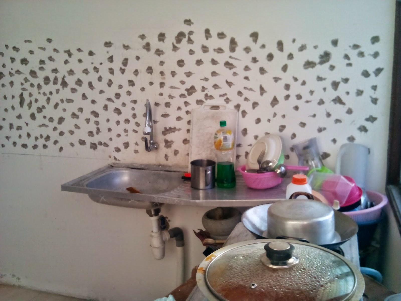 Projek Diy Kabinet Dapur Bermula Bissmillah