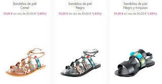 sandalias de piel planas 3