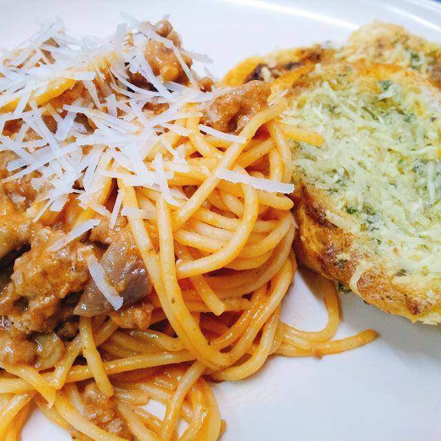 Darlene's Spaghetti ala Stroganoff