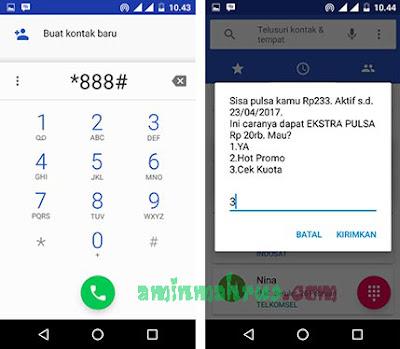 Cara Cek Kuota Telkomsel 4G Update Terbaru 2017