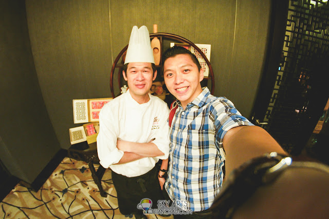 Thanks Chef Lo Tian Sion for re-excite our taste buds with your new flavor of moon cakes