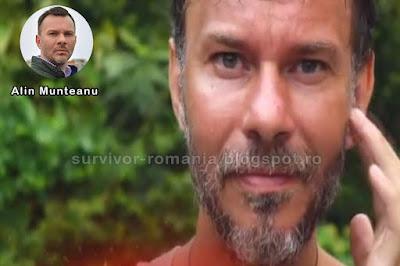 Concurentul Alin Munteanu în show-ul Supraviețuitorul