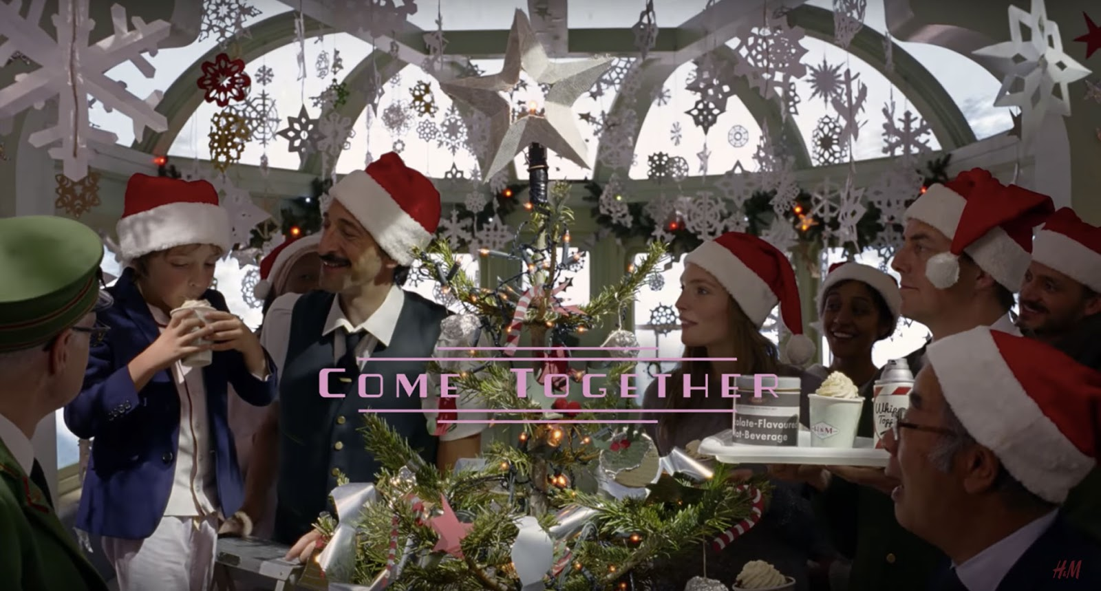 COME TOGETHER - H&M - WES ANDERSON