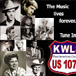 Print ads I was asked to create for KWLS US 107.9 Real.American.Country.