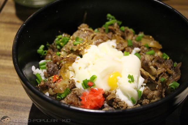 "Tokyo Beef Rice ""Gyudon"" of Watami Restaurant"