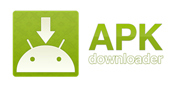 apk downloader logo in address bar