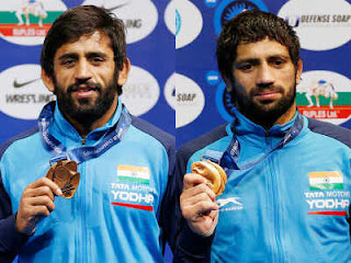 Bajrang Punia, Ravi Dahiya won bronze at World Wrestling Championships