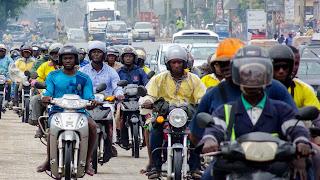 High pollution in westafrica