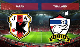 Live Streaming Japan vs Thailand AFC U16 20.9.2018