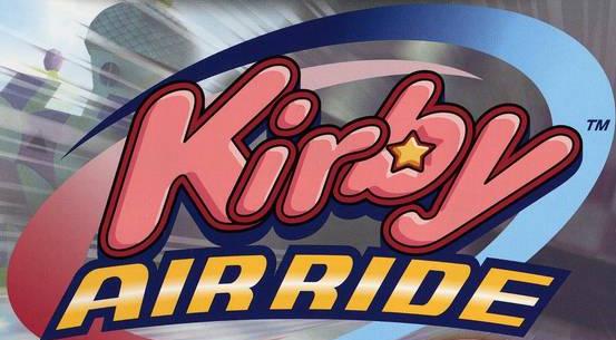 Kirby Air Ride cover