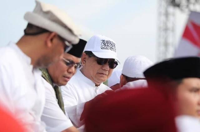 Dekat dengan Alumni 212, Wajar Jika Prabowo Hadir