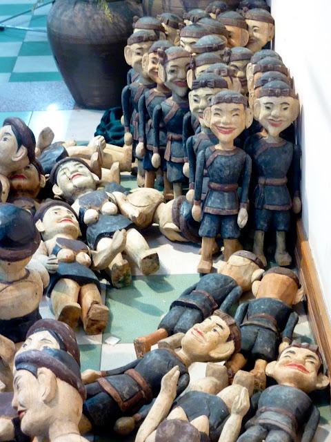 Marionetas de Agua, campesinos