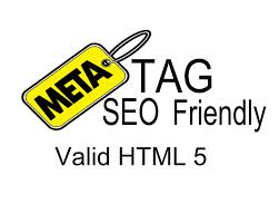 Gambar Meta Tag SEO friendly pada website atau blog