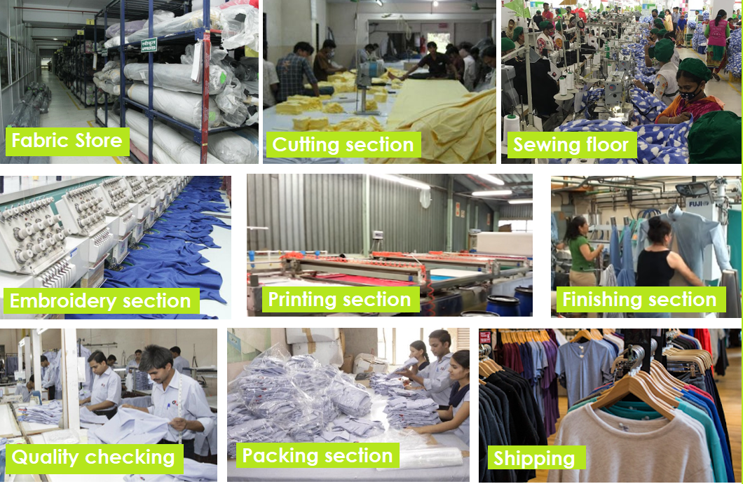 introduction of garment industry factory garments