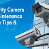 How to Do CCTV Systems Maintenance and Storage - Tips & Guide