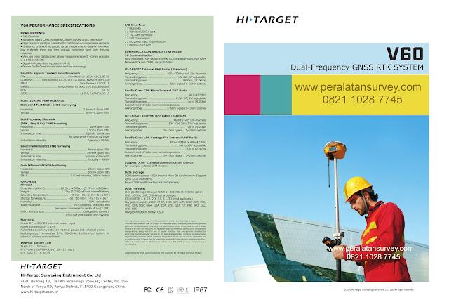 Brosur GPS Geodetik Hi-Target V60 GNSS  RTK  SYSTEM