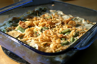Fresh Green Bean Casserole 1