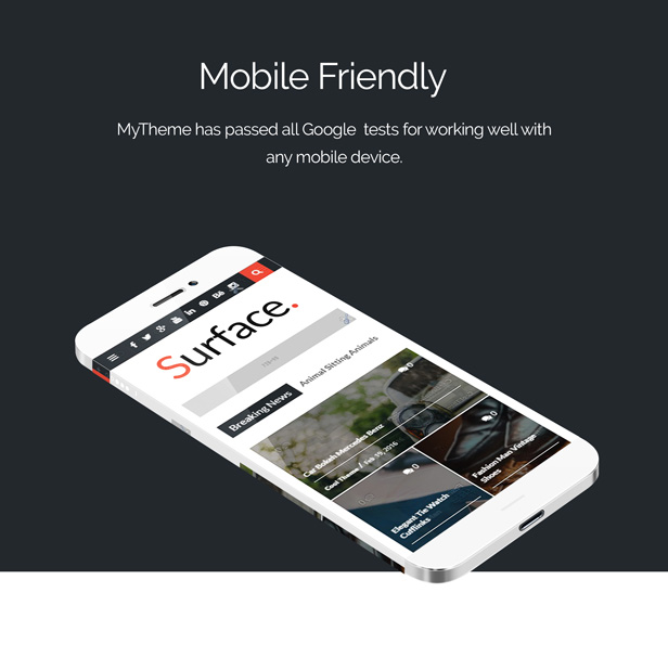 Surface - Responsive Magazine Blogger Theme by TIEQODE | ThemeForest