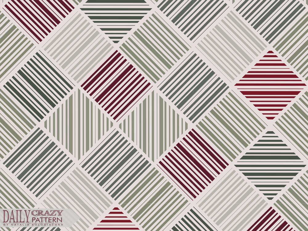 Geometric pattern with lines