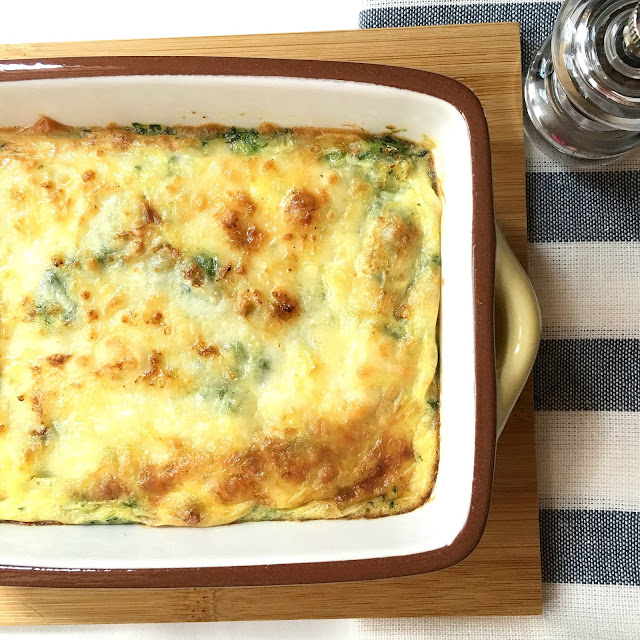 Sherbakes guilt free crustless spinach quiche for Luxury quiche