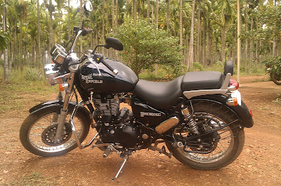 Royal Enfield Thunderbird 350 off road images