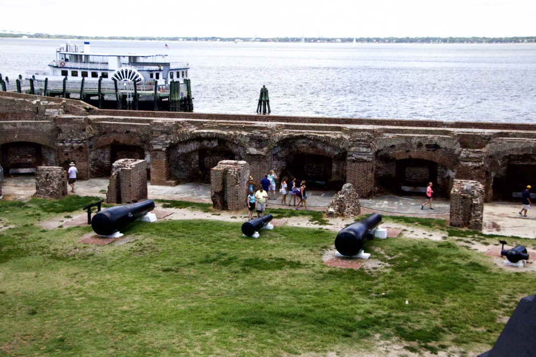 charleston travel guide fort sumter