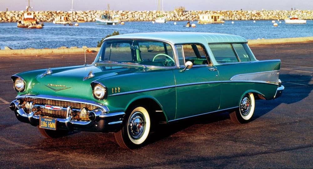 Chevrolet Bel Air Second Generation 1955 1957