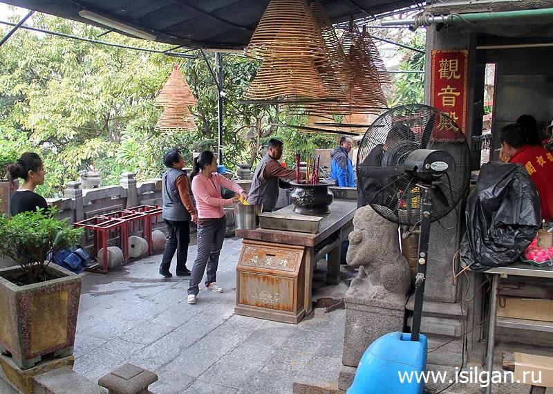 Храм A-Ma (A-Ma Temple). Город Макао. Китай