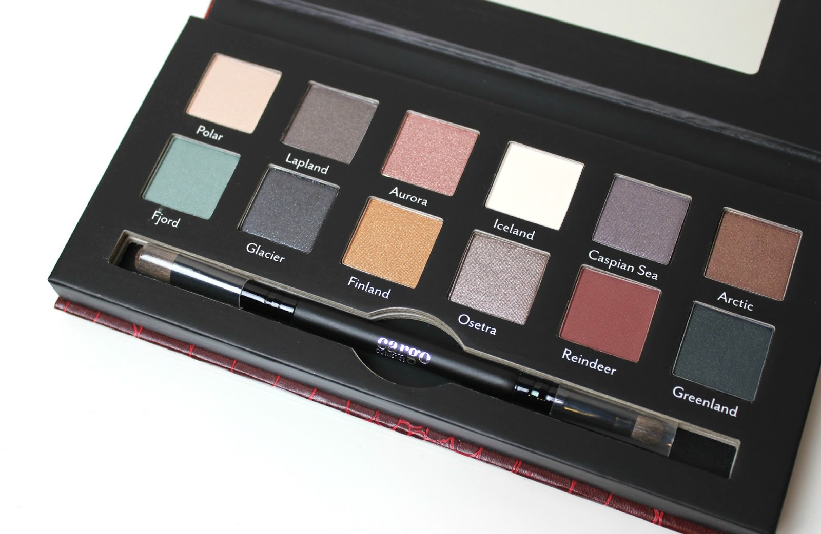 A picture of Cargo Northern Lights Eyeshadow Palette