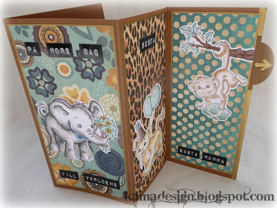 Whiff of joy safari animals card