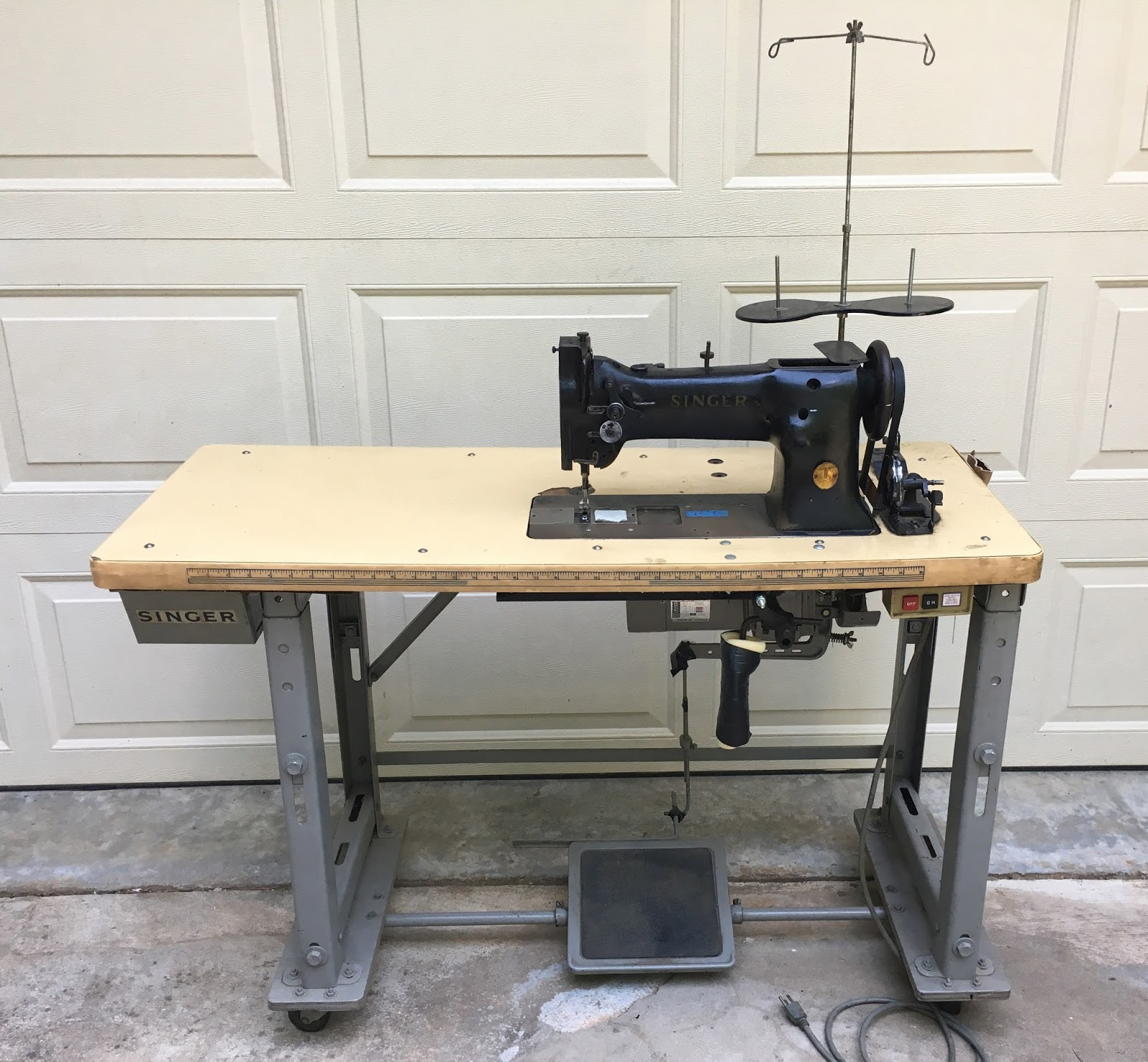 Singer 111w152 Industrial Sewing Machine Project | The Project Lady