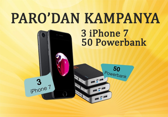 paro.com.tr, paro iPhone 7 çekilişi, iphone 7 çekiliş, iPhone 7 kampanya