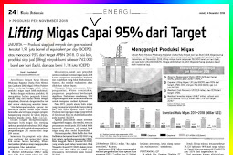 Lifting Oil and Gas Reaches 95% of Target