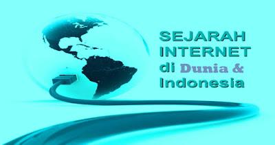 Sejarah Internet di Indonesia dan Dunia