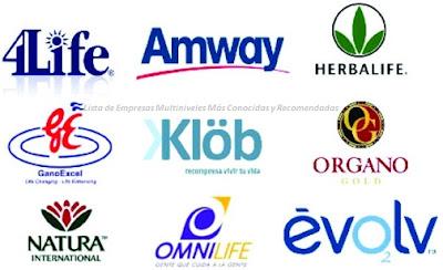 Lista de Empresas Multiniveles Más Conocidas y Recomendadas