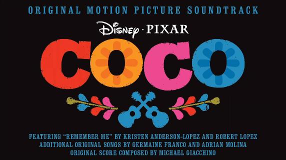 Trilha sonora completa de  VIVA - A VIDA É UMA FESTA  -  Coco Soundtrack 2017