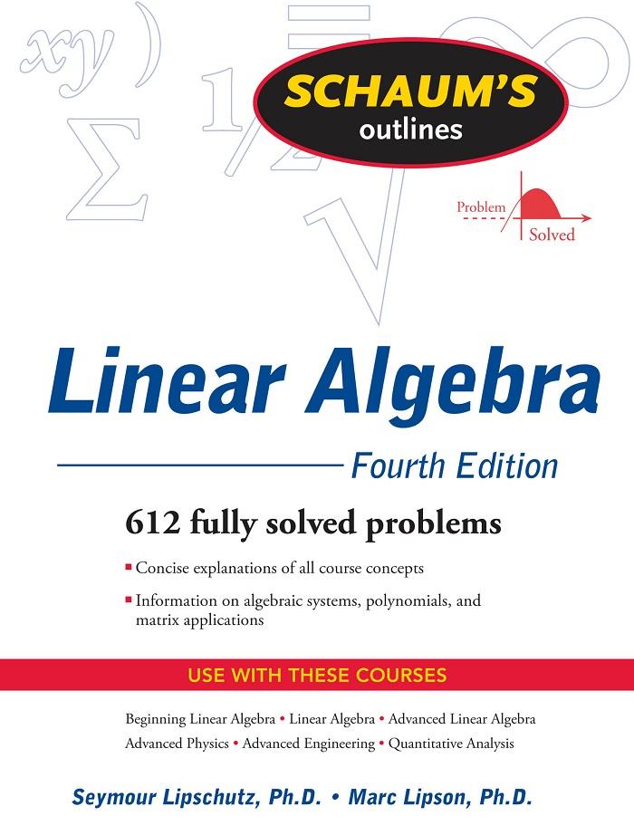 Linear algebra schaum series solution manual
