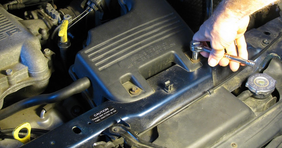 The Original Mechanic How To Replace The Air Filter On A