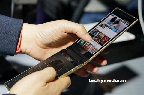 Samsung W2019 Flip Phone
