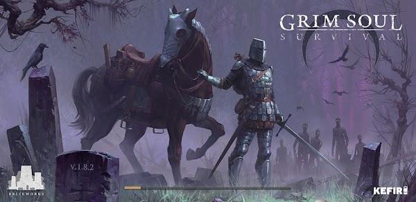 Grim Soul: Dark Fantasy Survival 1.8.2 Apk +[ Mod Money,Crafting]