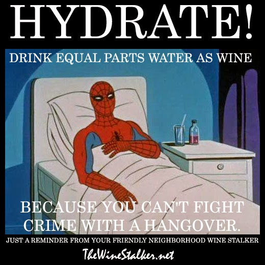 Spiderman on hangovers