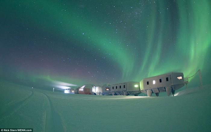 11 Foto Pemandangan Keren Markas Para Peneliti di Antartika