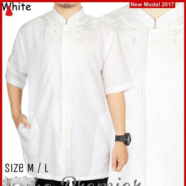MSF0190 Model Koko Pria Murah White WISNU BMG