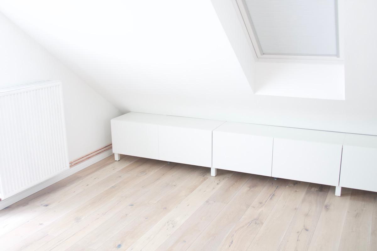 Offener Kleiderschrank Unter Der Dachschrägen Ikea Hack Sunnys Haus
